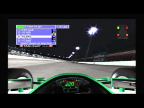 World Racers: Indycar Series 2005 PS2 - Tony Kanaan @ Texas Motor Speedway