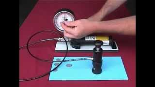 Defelsko Positest Pull Off Adhesion Tester Instructional Video(The PosiTest Adhesion Tester measures the force required to pull a specified test diameter of coating away from its substrate using hydraulic pressure. For more ..., 2012-11-12T05:20:15.000Z)