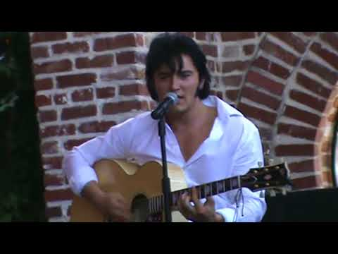 Ben Portsmouth sings 'What Do You See In Your Wildest Dreams' Elvis Week 2013