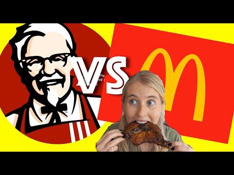 KFC Vs McDonald's In CHINA