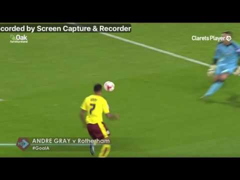 Andre Gray - The Magician! TOP 10 GOALS OF THE SEASON