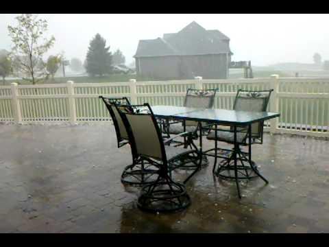 August 18, 2011 - Hail Storm - Omaha/Council Bluffs