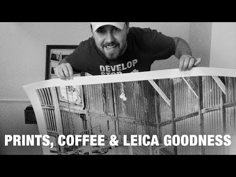 Giant Prints, Coffee, Leica History and Contest Giveaways | Mail Time | Nick Exposed