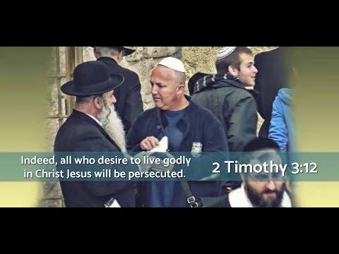 Rabbi's World Turned Upside Down When He Meets Jesus! Part 2