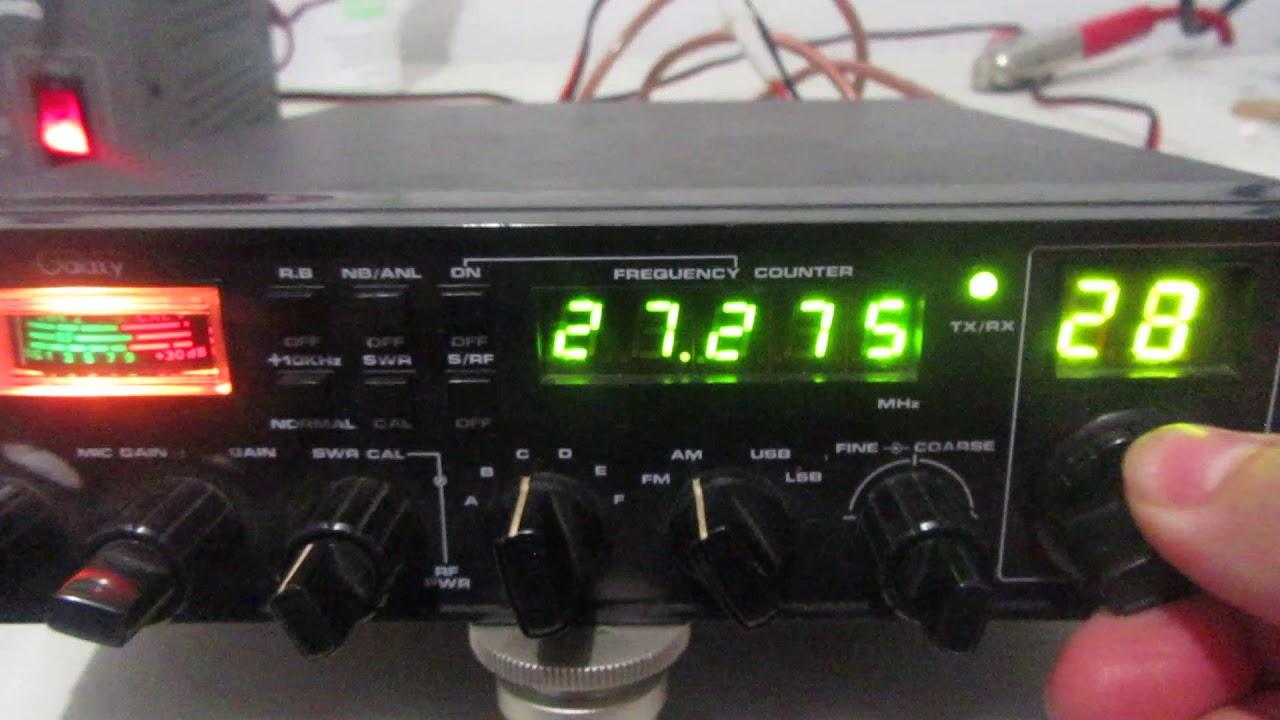 Galaxy Pluto Mobile CB Radio (For sale) on