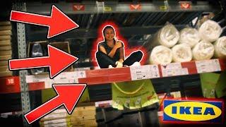 SCHOVÁVÁME SE V IKEA!!! | VYHODIL...