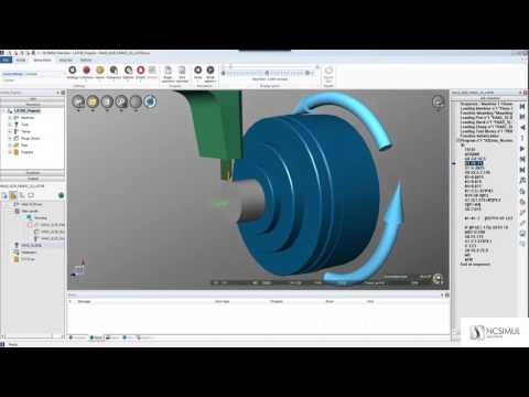 Using 3D cutting tool models for your simulation | Features | NCSIMUL MACHINE