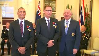 Australian divers honoured for Thai cave rescue