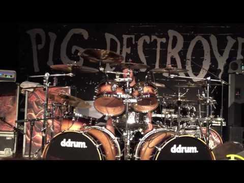 """PIG DESTROYER """"Full Concert in Baltimore MD"""" Nov./13/2016"""