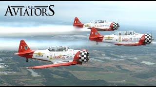 Aeroshell Aerobatic Team in action at Sun N' Fun