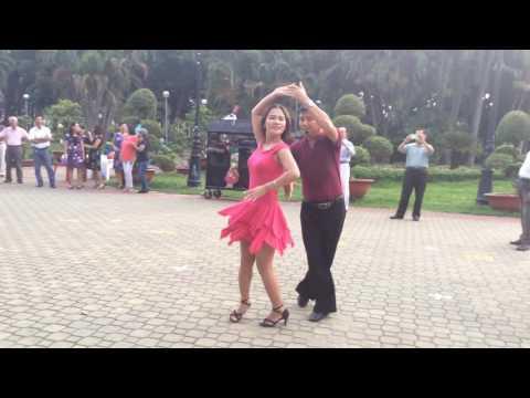 Rumba căn bản- CLB Khiêu vũ dưỡng sinh Nhịp sống vui