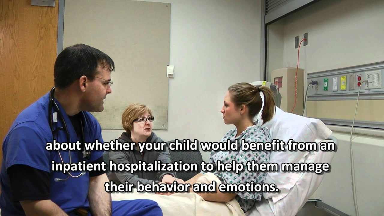 Child Mental Health Crisis In The Emergency Room YouTube - Kids emergency room