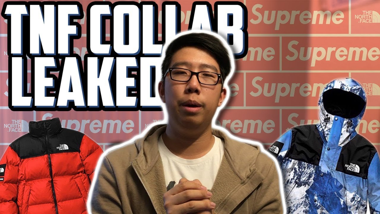 0cf88cc94a52 SUPREME x NORTH FACE FW17 COLLAB LEAKED!?!?! - YouTube