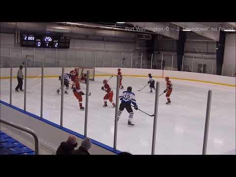 Port Washington vs Jamestown Raiders JV Hockey 3-2-2018