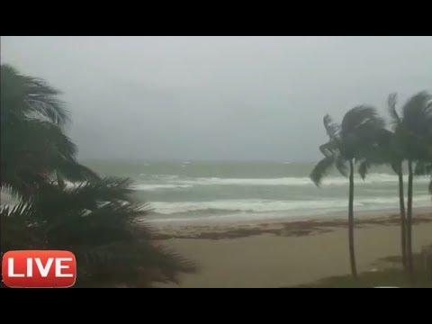 Art Deco Miami Storm Webcam (HURRICANE IRMA)
