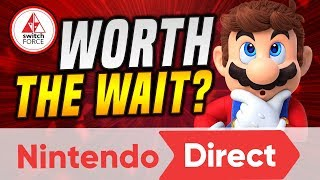 Upcoming New Switch Games WORTH THE WAIT!? Our HUGE Nintendo Direct REVIEW!