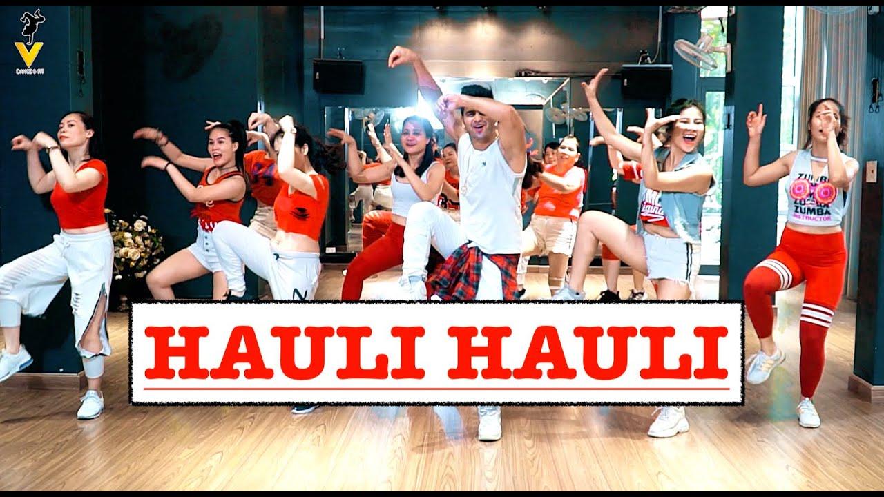 HAULI HAULI | Yeah Baby Remix | Bollywood Zumba | Garry Sandhu, Neha Kakkar, Ajay Devgn,Tabu |