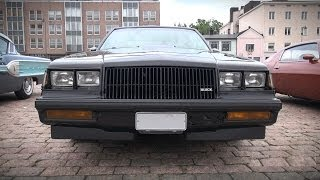 1987 Buick Grand National 3.8 SFI Turbo - sound, overview