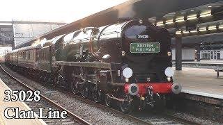 35028 Clan Line with the Belmond British Pullman 15/05/19