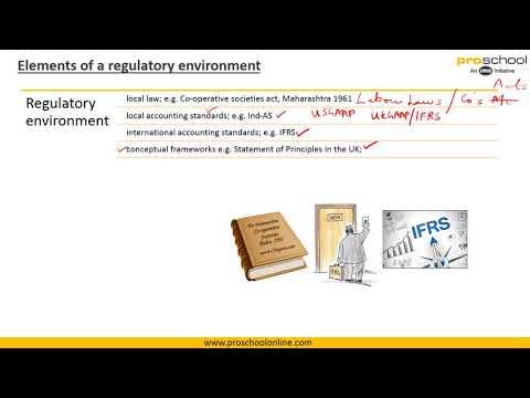 IFRS - Regulatory Environment And Conceptual Framework Part 1 & 2