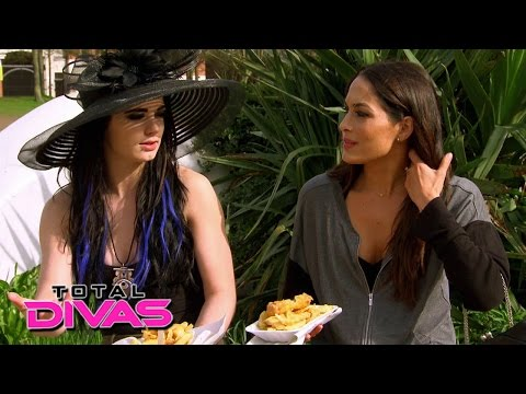 Paige talks to Brie Bella about her...