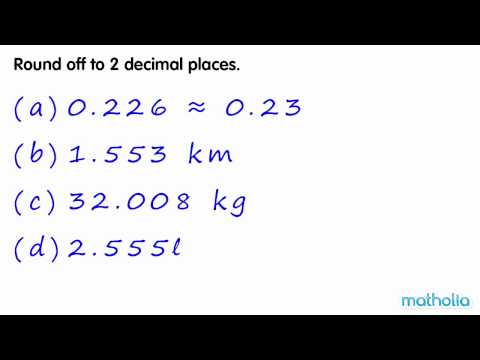 Rounding to 2 Decimal Places