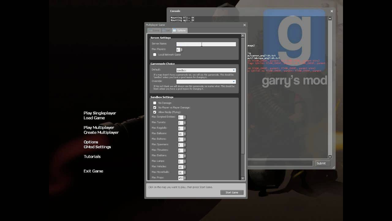 How to make a cracked Gmod Private server