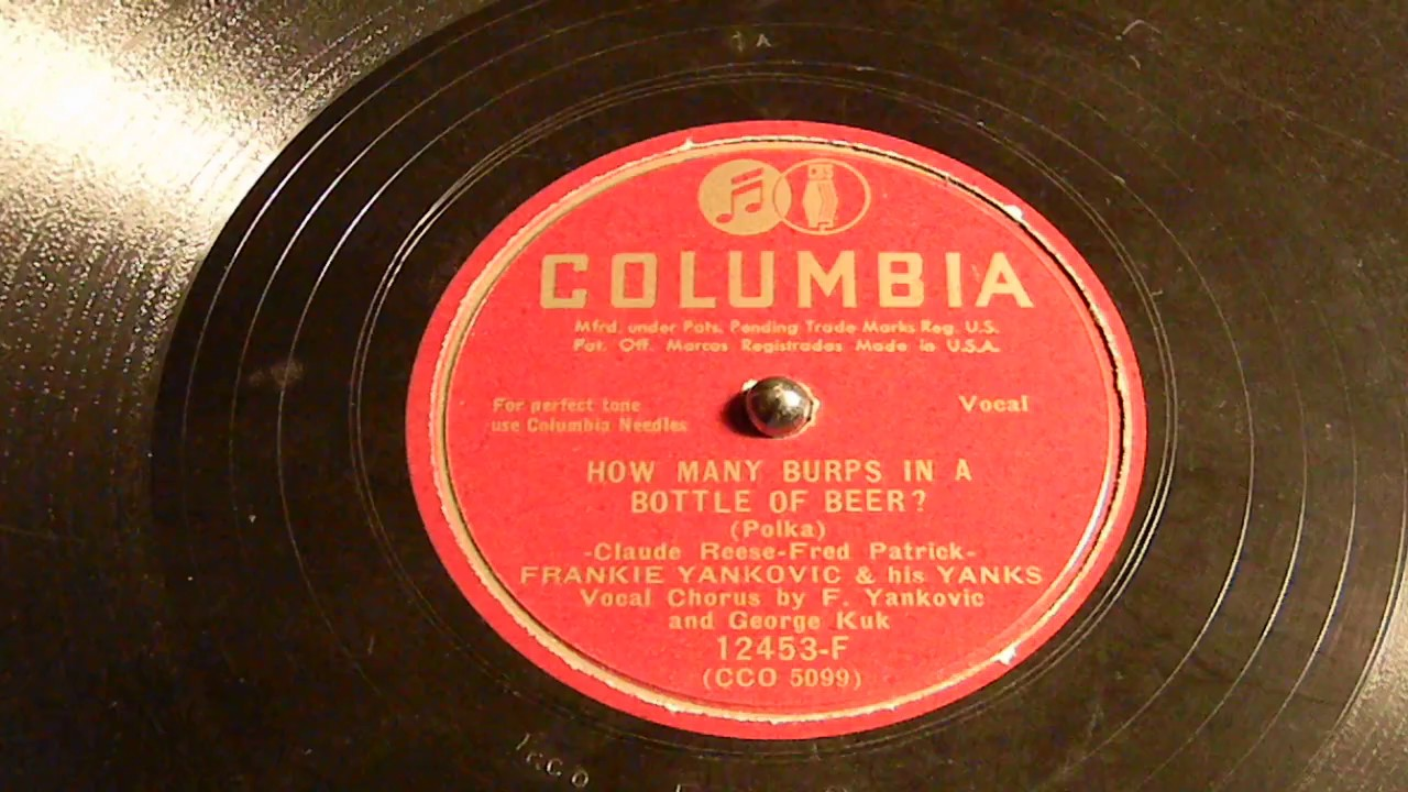 Frankie Yankovic And His Yanks - Beer Barrel Polka / Marianne