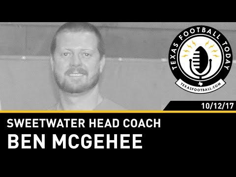 Texas Football Today interview: Sweetwater head coach Ben McGehee
