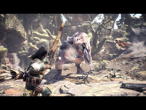 6 Minutes of Monster Hunter Worlds Gameplay - TGS 2017