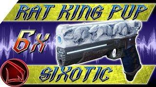 Destiny 2: Rat King PvP Sixotic – 6 Rat King Exotic Sidearm Crucible Gameplay