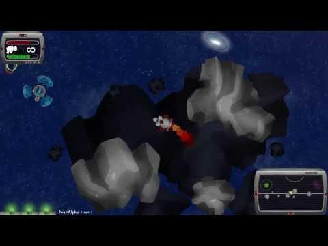 The Intergalactic Trashman Pre-Alpha Launch Trailer