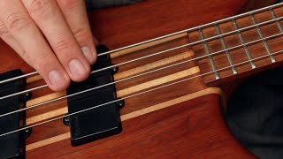 Bass Groove Technique: Right Hand Percussion