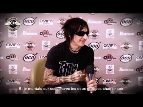 Guns N' Roses - Interview Richard Fortus - Hellfest 2012 - Traduction en Français - TV Rock Live