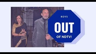 Time has started ticking for crooked Prannoy Roy after SEBI Order forces him to leave NDTV
