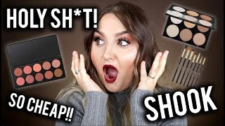 Video HOLY SH*T! BEST/CHEAPEST MAKEUP EVER!? FULL FACE BH COSMETICS FIRST IMPRESSIONS download MP3, 3GP, MP4, WEBM, AVI, FLV Juni 2018