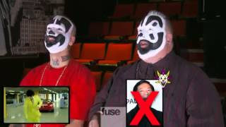 Shaggy 2 Dope and Violent Jay watch Gangnam style insane clown posse icp