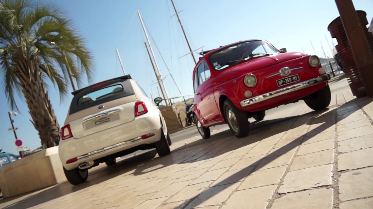 fiat 500 forever young tour in cannes trailer automototv youtube. Black Bedroom Furniture Sets. Home Design Ideas