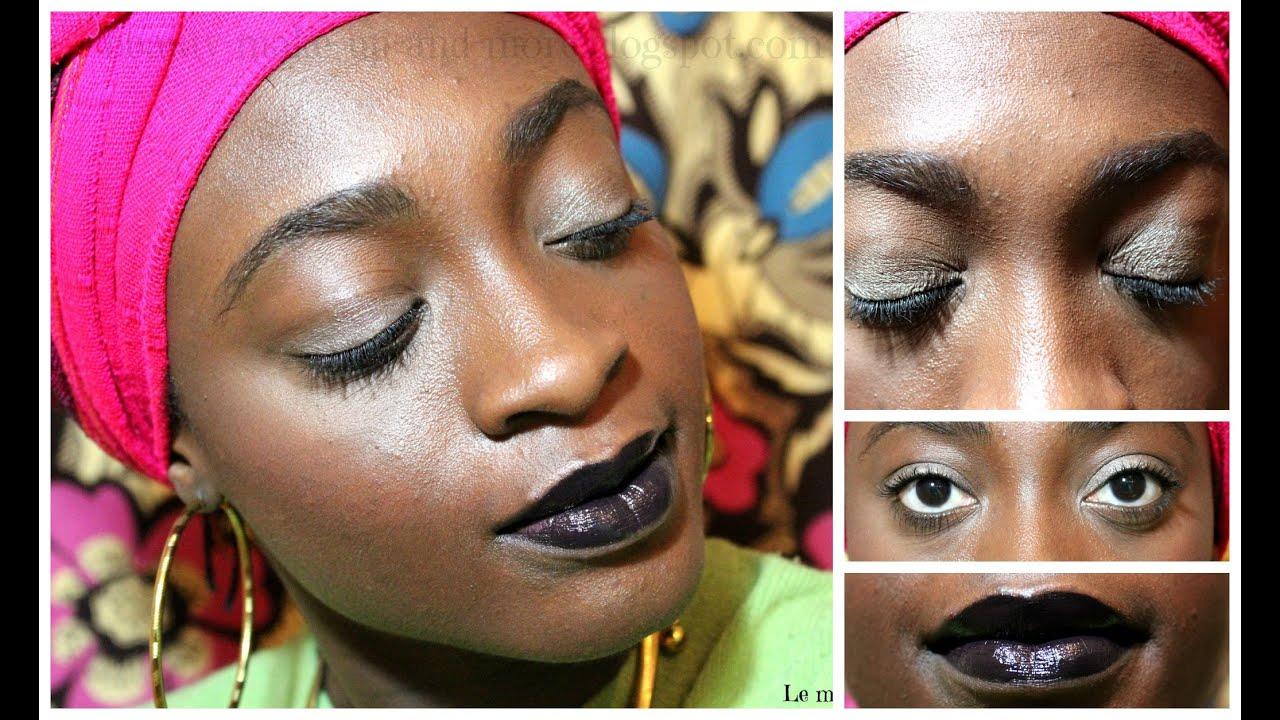 Célèbre Tutoriel |✿ Comment porter un rouge à lèvres foncé (peaux noires  SU83