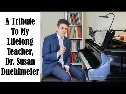 A Tribute To My Lifelong Teacher - Josh Wright Piano TV