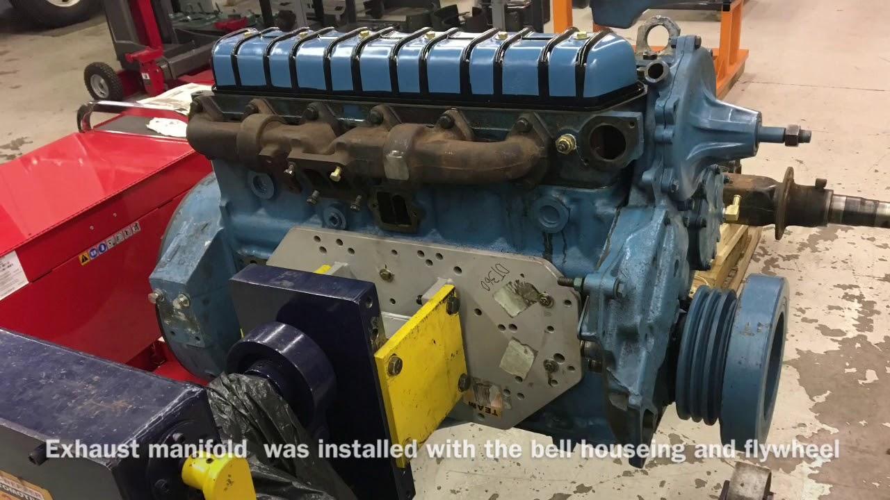 International DT360 rebuild