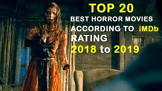 Top 20 Worldwide Best Horror Movies 2018 to 2019 According to Imdb Rating  All time hit