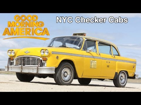 Checker Taxi on Good Morning America July 12, 1994
