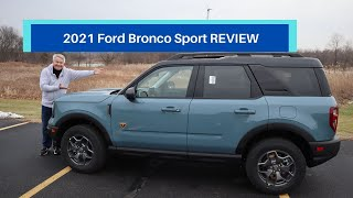 2021 Ford Bronco Sport - Badlands Edition REVIEW