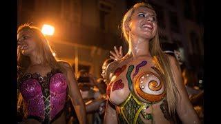 Sao Paulo Carnival Blocos Callejeros Batucada extreme LIVE TV RUA