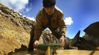 extracción de oro en el Cordón Baquedano (documental año 2011)