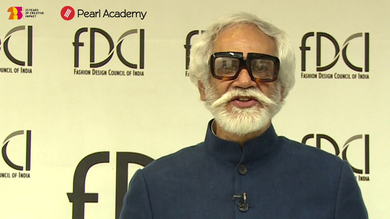 Sunil Sethi S Message To Fashion Design Aspirants Youtube