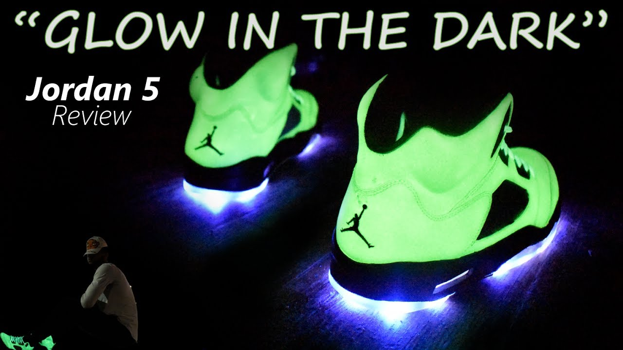 c17b8792a32 Nike Air Jordan 5 Glow In The Dark Review | Hypebeast Collection ...