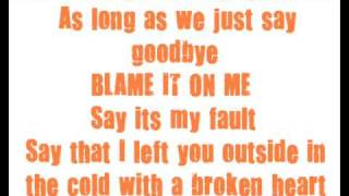 Chrisette Michele - Blame it On Me *Lyrics*