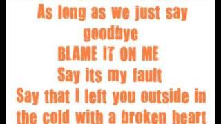 Chrisette Michele - Blame it On Me *Lyrics*